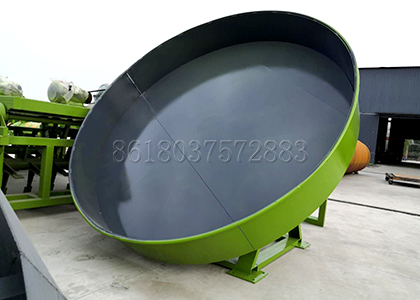 3.2m Granulation Pan of Sheep Manure Disc Granulator