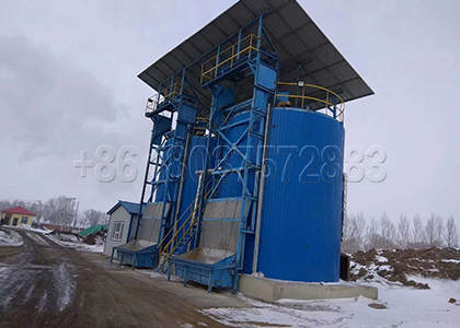 Aerobic Fermentation Tank for Dairy Waste composting