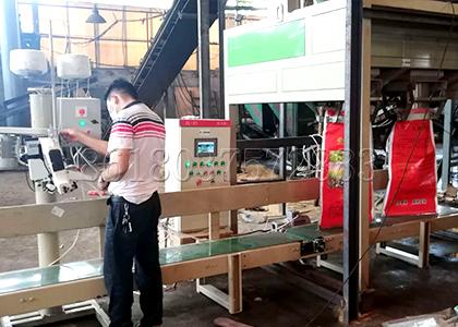 Automatic Chicken Waste Fertilizer Packing Machine