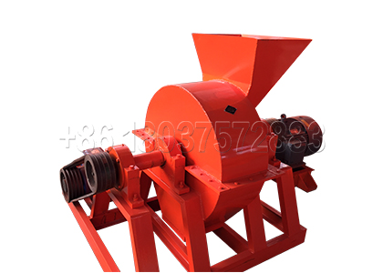 Cage Type Fertilizer Crusher for Compost Making