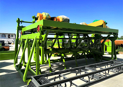 Compost Turner for Organic Fertilizer Production Factory