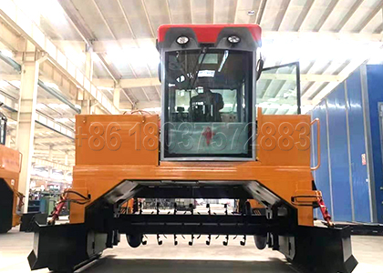 Composting Chicken Manure Equipment Produced by SX