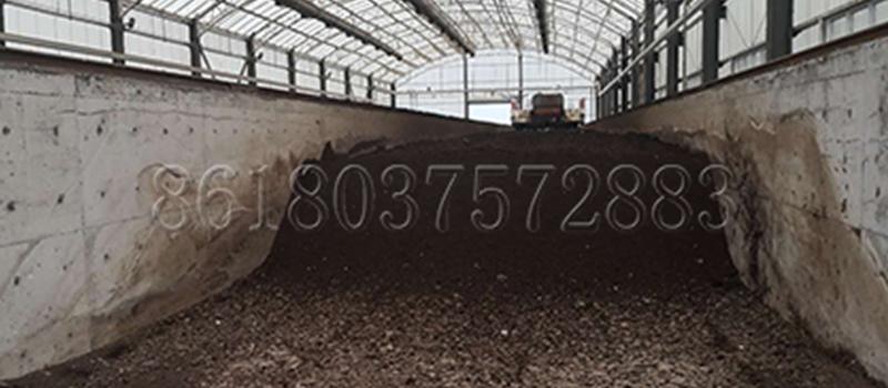 Composting Dairy Manure Plant
