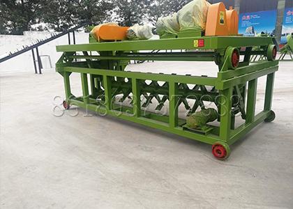 Composting Machine in Flat Die Granulator Fertilizer Production Line