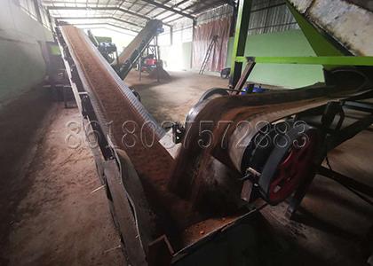 Conveyor Belt for Transporting Organic Fertilizer