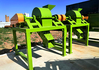 Crusher in Drum Pelletizer Fertilizer Manufacturing Line