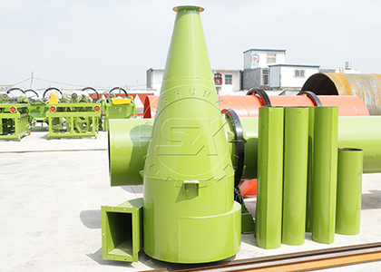 Cyclone Dust Collector for Drying System