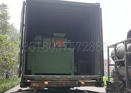 Double Roller Extrusion Fertilizer Pelletizer Sent to Turkey