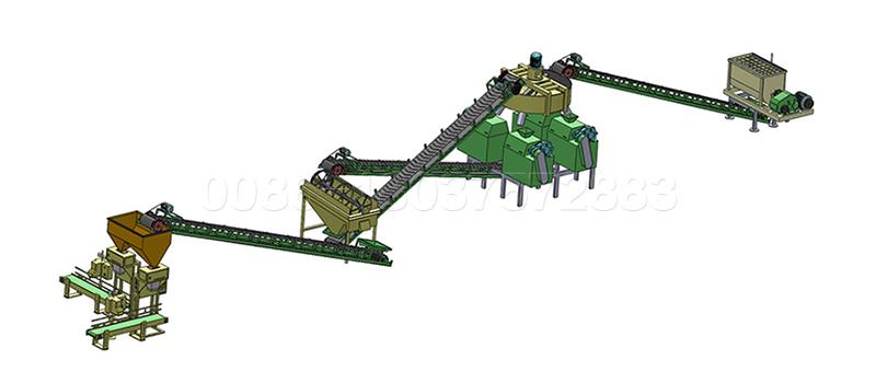 Double Roller Pelletizer Fertilizer Granulation Production Line for Turkish Customer