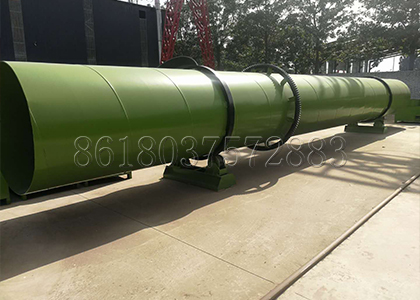 Drying and Cooling Machine to Dry Organic Fertilizer