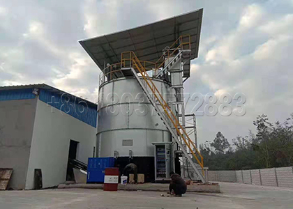 Fermentation Equipment for Chicken Manure Manament