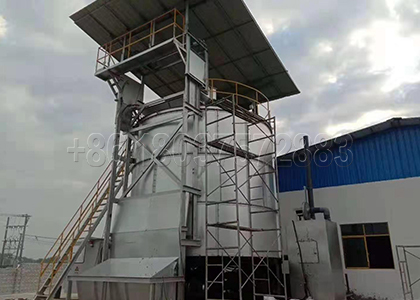Fermentation Machine for Medium Scale Organic Waste Composting