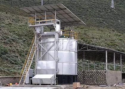 Fermentation Pot for Pig Manure Composting