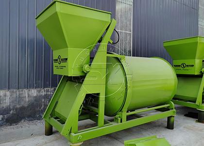 Fertilizer Blender in Bulk blending fertilizer production line