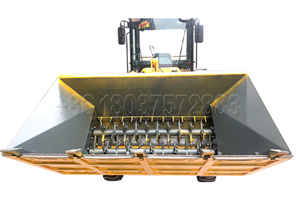 Forklift type Turning Machine for Small Scale Farm