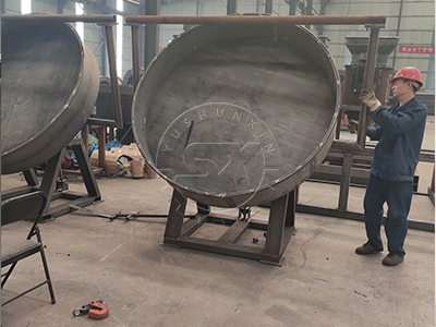 Glass-Reinforced Plastic Granulating Pan of Disc Pelletizer