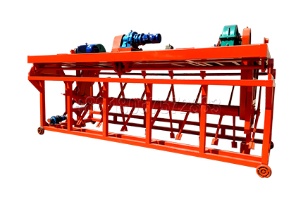 Groove Type Compost Turner for Large Scale Pig Manure Aerobic Fermentation