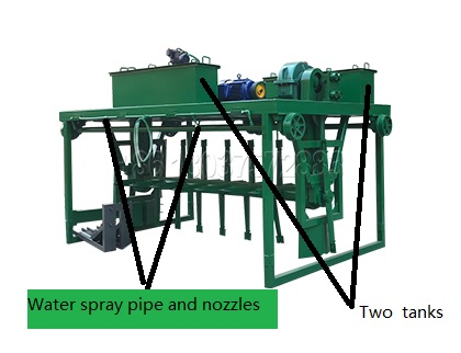 Groove type Compost Turner For Composting Dairy Manure