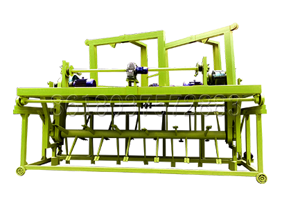 Groove type Compost Turning Machine for Small-Sized Fertilizer Factory