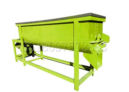 Horizontal Mixer for Rotary Granulator Fertilizer Production Line