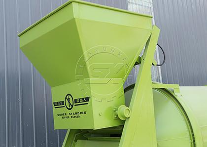 Inclination Conveyor Elevator of BB Fertilizer Mixer