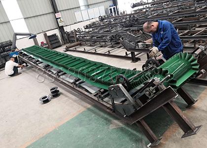 Main Structure of Fertilizer Conveyor Producing