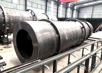 Making Process of Big Drum Granulating Machine