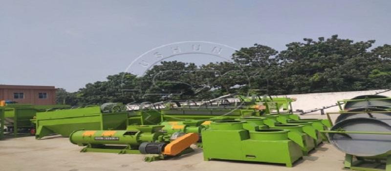 Manure Pellet Machines in ShunXin