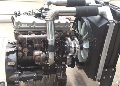 Medium Scale Crawler Type Compost Turning Machine Diessel Engine
