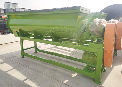 Mixer for Mixing Dairy Manure Fertilizer