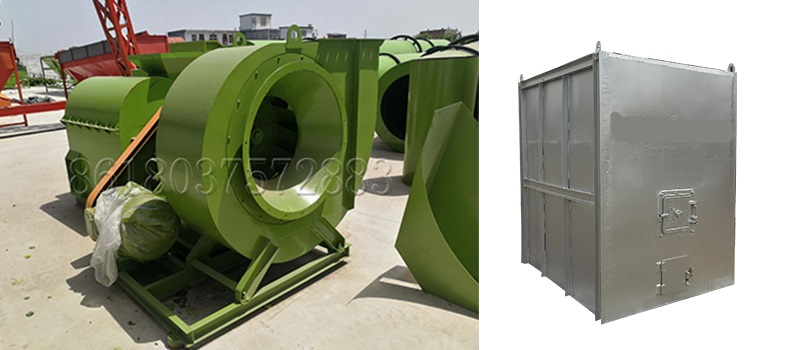 Natural Gas Burner and Hot Blast Furnace in Drying system