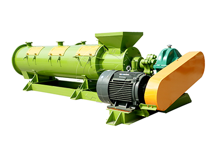 New Design Granulator for Organic Fertilizer Plant