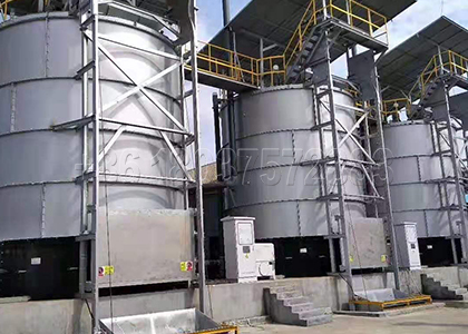 Organic Fertilizer Fermentation Pot for Treating Manure before Pelleting