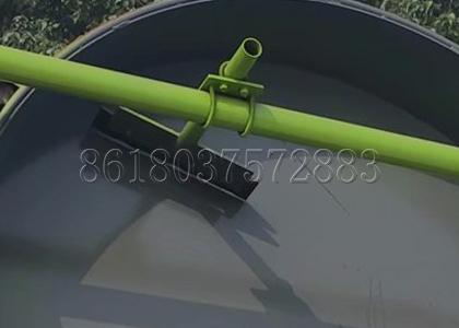 Pan Granulator Scraper for Cleaning Raw Material