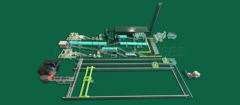 Powder and Granular Fertilizer Production Line for Fertilizer Production Plant