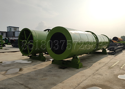 Rotary Drying Machine for Drying in Cat Litter Production Line