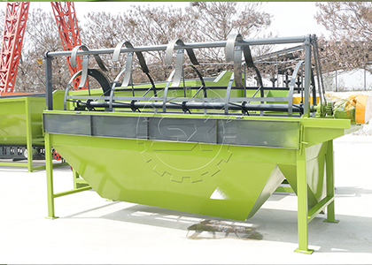 Rotary Screening Machine for Screening Powder Cow Dung Fertilizer