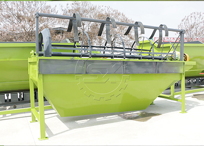 Self-cleaning Screening Equipment for Screening Small-sized Organic Fertilizer