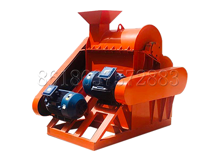 Semi-wet crusher used in cow manure powdery production line