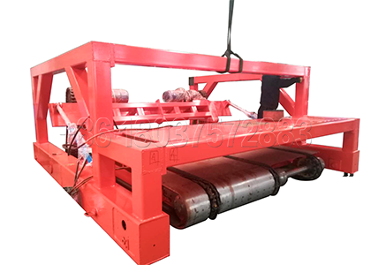 Small Chain Plate type Compost Turning Machine for Deep