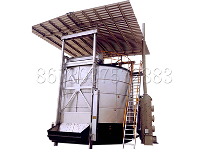 Small Fermenter in Organic Fertilizer Plant