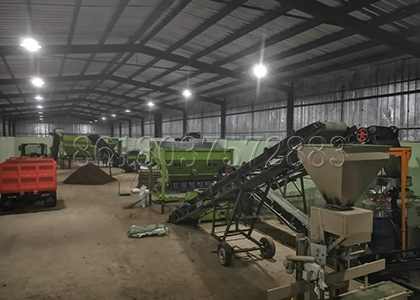 Small Organic Fertilizer Production Line Designed by SX