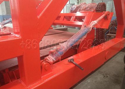Structure Design of Medium Chain Plate type Composting Machine