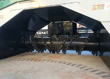 Turning Parts of SX Windrow Compost Chicken Poop Pile Turner