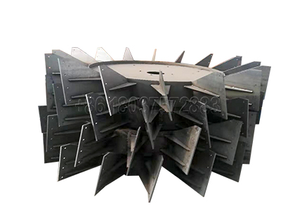 Wheel Teeth of Wheel Type Dairy Manure Composting Turner