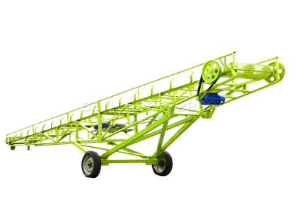 Belt Conveyor for Organic Fertilizer Making Line in SEEC