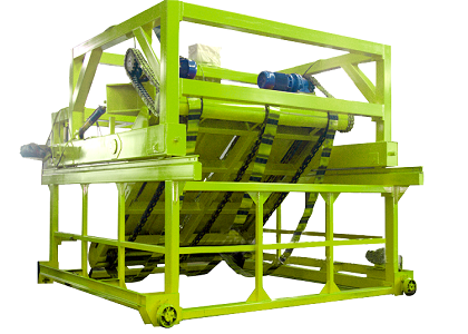 Chian Plate type Compost Turning Machine for Your Commercial Plant