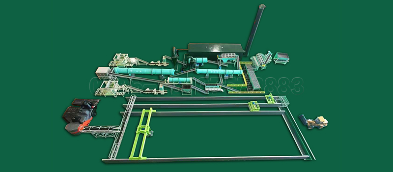 Complete Organic Fertilizer Production line for Manure Management