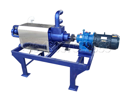 Dewatering Machine in Commercial Composting Plant