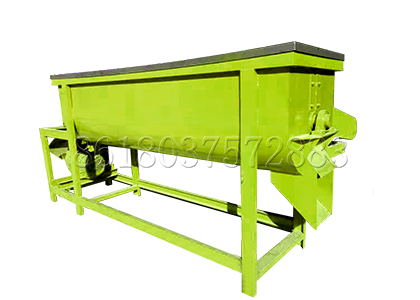 Mixer for Commercial Compost Line